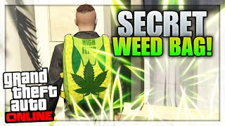 "GTA 5 Online - SECRET WEED BAG! (Unlock The High Flyer Parachute Bag Online) ""GTA 5 Glitches"""