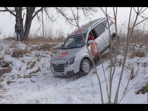 Блог Hover H3 - Зимний offroad по лесу и снегу