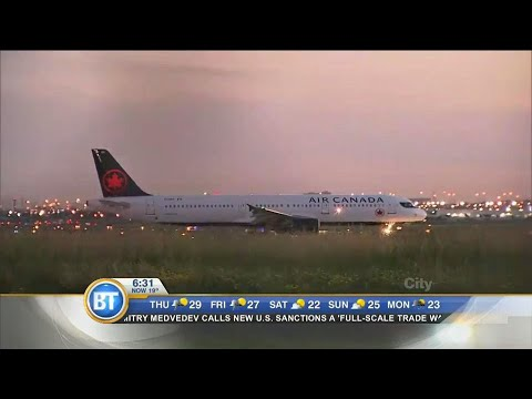 Violence on board Air Canada plane, flight attendant assaulted