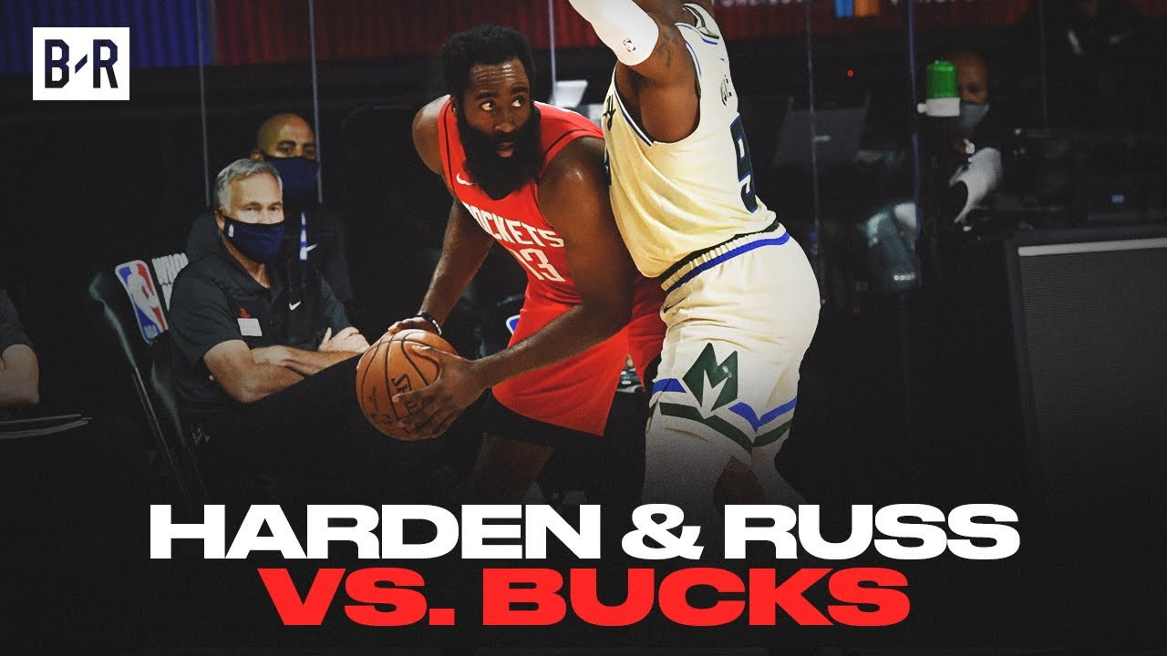 Bucks vs. Rockets score: James Harden and Russell Westbrook ...