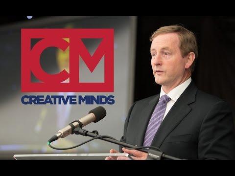 Creative Minds - Taoiseach Enda Kenny