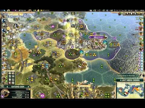 Civilization V BNW Venice Liberty Commerce Autocracy Deity Domination 02