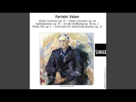 Concerto For Violin And Orchestra, Op.37