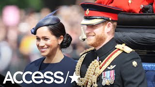 Prince Harry Keeps A Special Reminder Of Wife Meghan Markle Close By During Official Meeting!