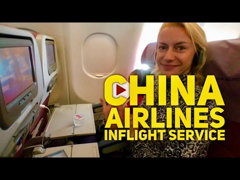 China Airlines: Manila to Taipei Inflight Entertainment and Service Economy Review