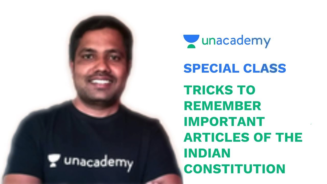 Special Class - Tricks to remember Important Articles of the Indian  Constitution - Hanumant Hande