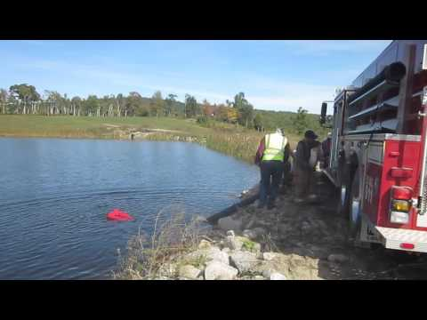 Part 8 - Rural Water Supply Drill - Prospect, Maine - October 2015