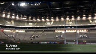 360° Vue de la U Arena