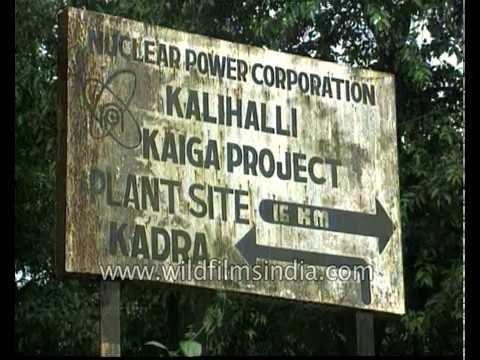 Kaiga nuclear energy generating station in India