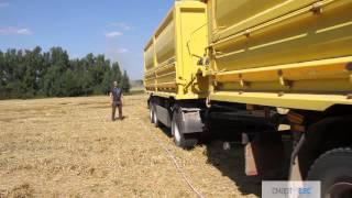 Определение длины грузового автомобиля Мерседес с прицепом для перевозки зерна(Определение длины грузового автомобиля Мерседес с прицепом для перевозки зерна http://www.smartves.ru/ 8 (495) 579-98-41..., 2015-08-19T16:44:55.000Z)