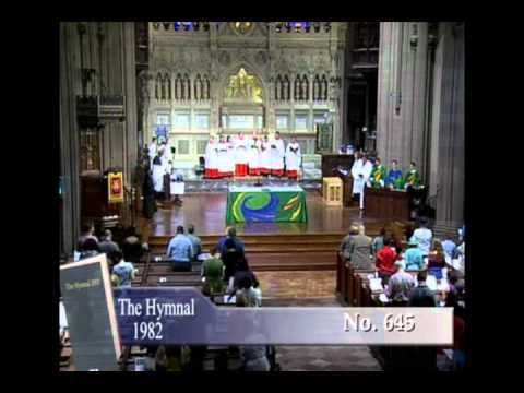 The King of love my Shepherd is - Wall Street Trinity Church - July 22, 2012