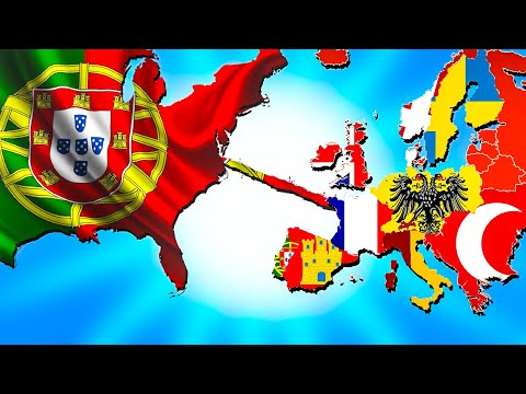 I Connected Europe and America and This Happened - Europa Universalis 4 EU4 |