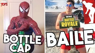 7 CHALLENGES THAT BECAME VIRAL Bottle Cap, Fortnite Dance