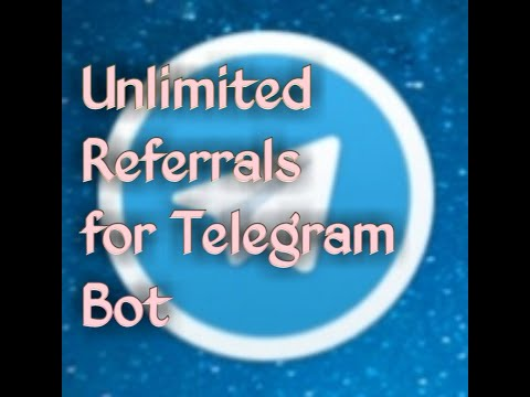 How to get unlimited referral in Telegram bot - Myhiton