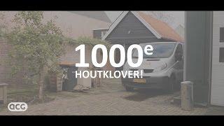 ACG® Houtklovers – 1000e machine bij leer- en werkbedrijf de Enk in Lemelerveld