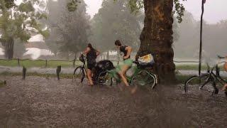 Extremes Unwetter in Münster 28.07.2014 - 240 Liter pro Quadratmeter!