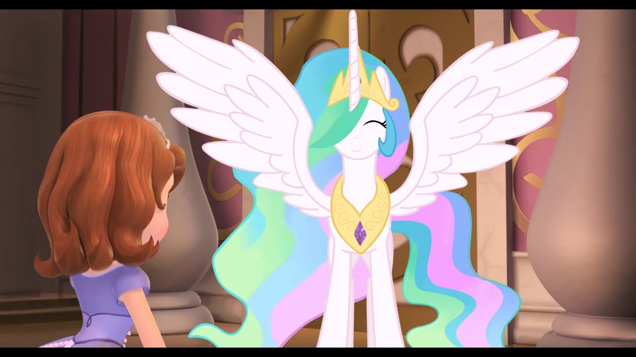 Sofia the First meets My Little Pony