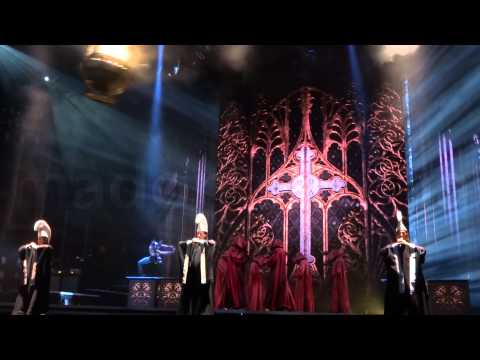 Madonna - Virgin Mary Intro & Girl Gone Wild - MDNA Tour Montage [HD]