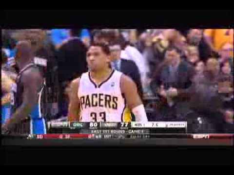 Chris Duhon Epic Troll Danced Danny Granger travel Magic at Pacers