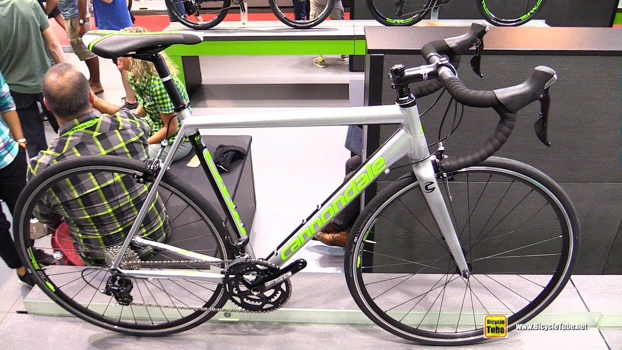 fc1c1a9a9ba 2017 Cannondale CAAD Optimo 105 Road Bike - Walkaround - 2016 Eurobike -  YouTube