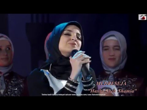 Nasyid 'Mawla Ya Salli Wa Sallim' Beautiful Albanian Girls of Medreseja Haxhi Sheh Samia Lirik   You