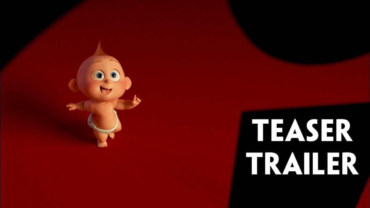 Incredibles 2 Official Teaser Trailer - YouTube