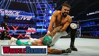 Can Rey Mysterio Or Andrade WIN Royal Rumble 2019? WWE SmackDown, Jan. 22, 2019 Review | WrestleTalk