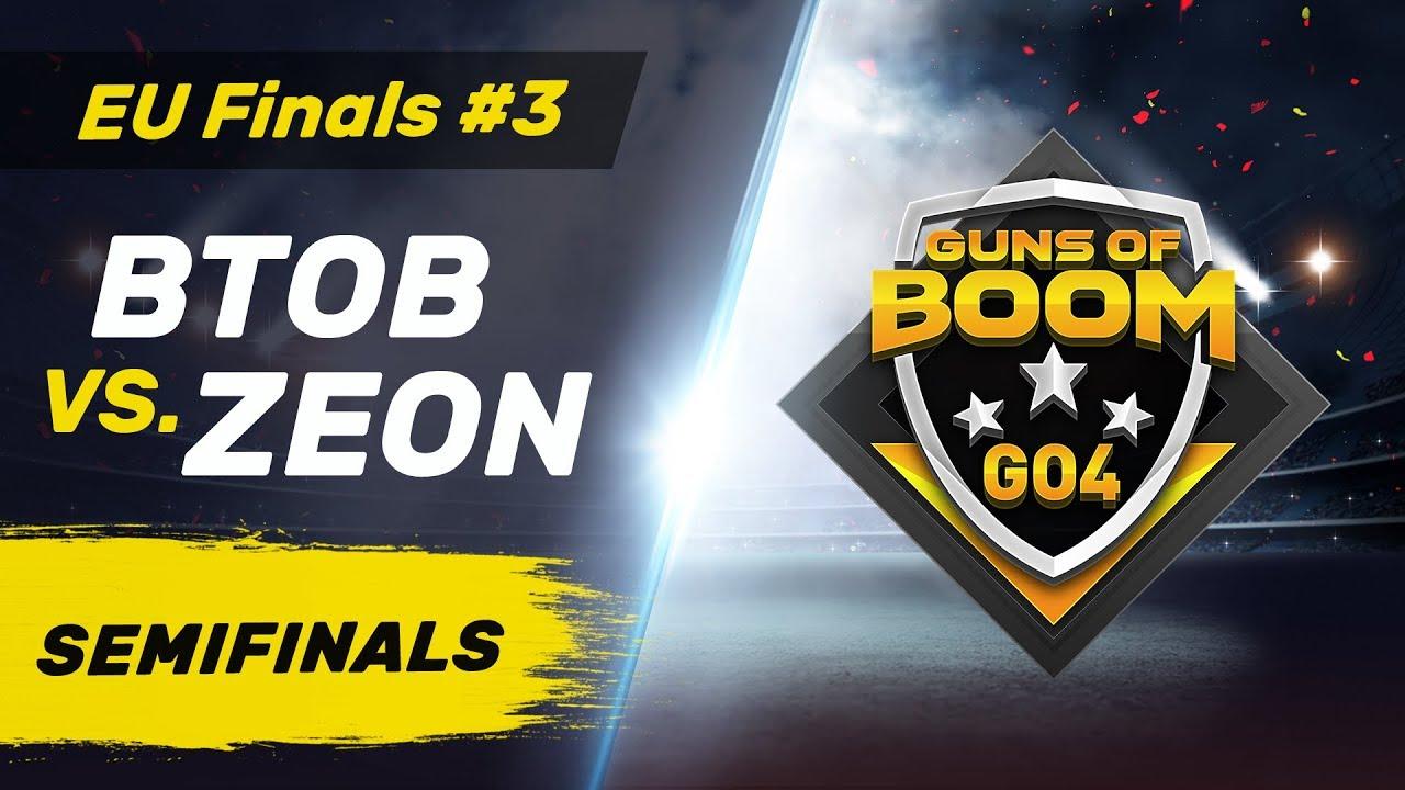 BTOB vs ZEON - GO4 EU Finals #3 - Semifinals