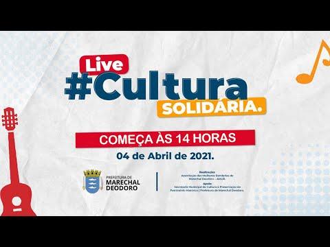 LIVE CULTURA SOLIDÁRIA - 04.04.2021