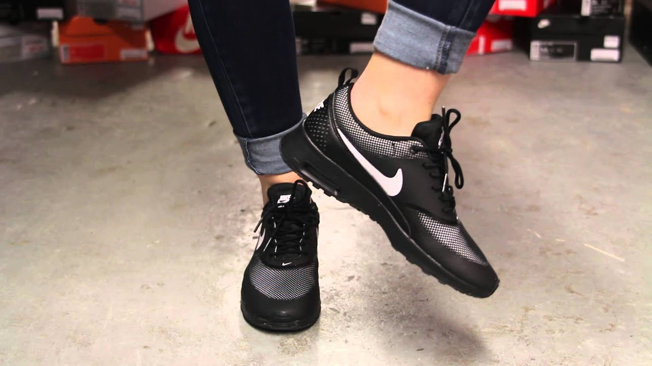 nike air max thea all black