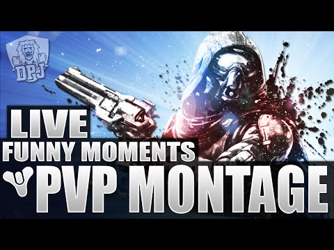 Destiny: LIVE - Funny, Fail & Epic PvP Moments Montage #1 (Funny Destiny Crucible Moments)