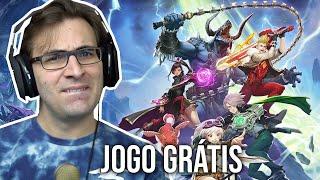 BATTLE BREAKERS - O Início de Gameplay, em Português | Jogo Grátis para Celulares, Tablets e PC