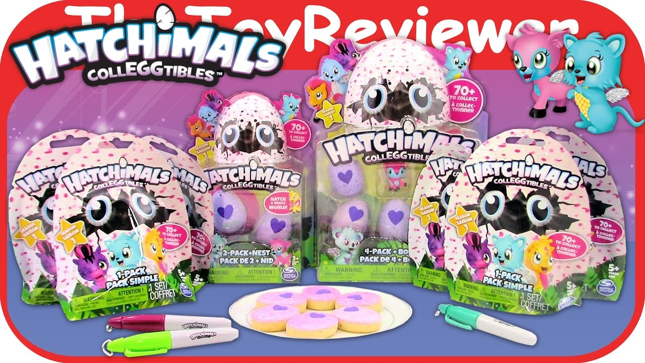 8a5a9dfbe23 Hatchimals Colleggtibles Blind Bags Nest 2 + 4 Pack Collectibles Unboxing  Toy Review TheToyReviewer