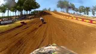 GoPro HD: Derek Anderson Practice Lap 2012 Lucas Oil Pro Motocross Championship Budds Creek