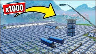 *NEW* Fortnite v6.30 Glitch - SPAWN ISLAND VS x1000 BOUNCER PADS