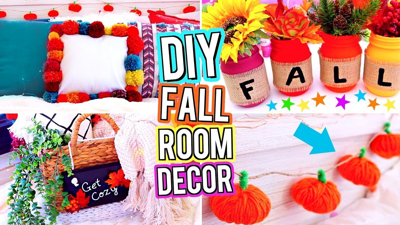 Diy Room Decor Diy Fall Room Decor Diy Room Decorations Easy Cute Diy S For Your Room