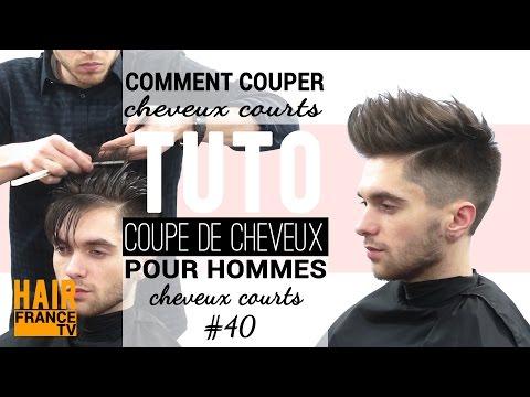Une coupe de cheveux homme tendance HAIR France TV