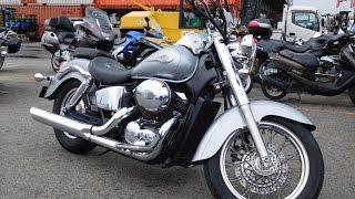 B6774 HONDA SHADOW 400(Отличная мототехника из Японии. Без пробега по России. http://avtobest-moto.ru/ Адрес: г.Новосибирск, ул. Северный проез..., 2016-07-26T09:50:03.000Z)