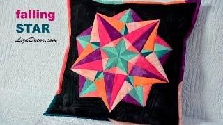 Patchwork Falling STAR - Padající hvězda