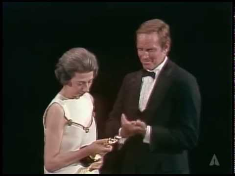Edward G. Robinson's Honorary Award: 1973 Oscars