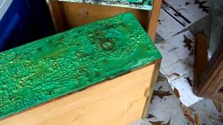 This video is not available. Stripping Paint off Old Dresser - the EASY way!