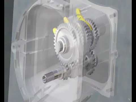 YouTube   CATIA V5 R18 Gearbox Animation
