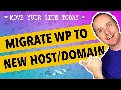 Migrate a WordPress site [2017] to a new host and new domain manually | WP Learning Lab