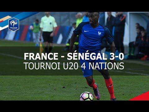 France-Sénégal U20  (3-0) : buts et réactions