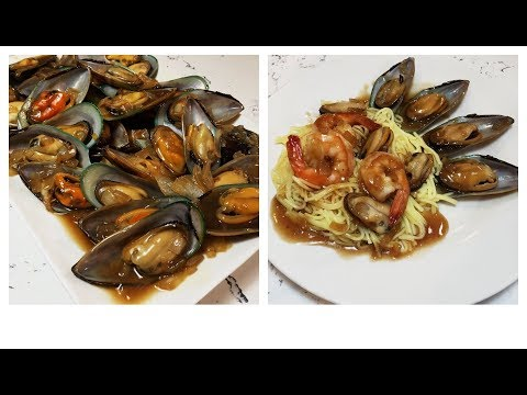 Mussels Recipe/ Seafood Pasta