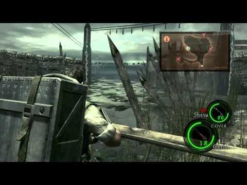 Resident Evil 5. Ностальгическое прохождение. Часть 6. У поганых болот чьи-то тени встают.