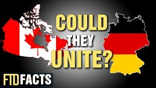 What If GERMANY and CANADA Became One Country?