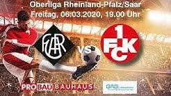 FC Arminia 03 Ludwigshafen vs 1. FC Kaiserslautern U21