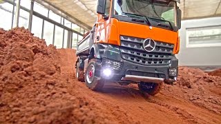 Download Video RC TRUCK ACTION! MAN! Scania! MB Arocs! Liebherr! Volvo! Komatsu! RC Dozer! RC Digger! MP3 3GP MP4