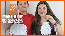 DIY Upcycled Lamp with Jaime Costiglio   Kids Workshops   The Home Depot